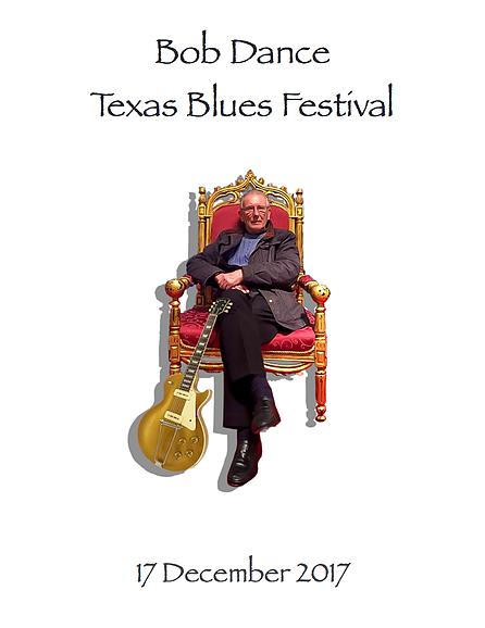Bob Dance Texas Blues Festival 2017