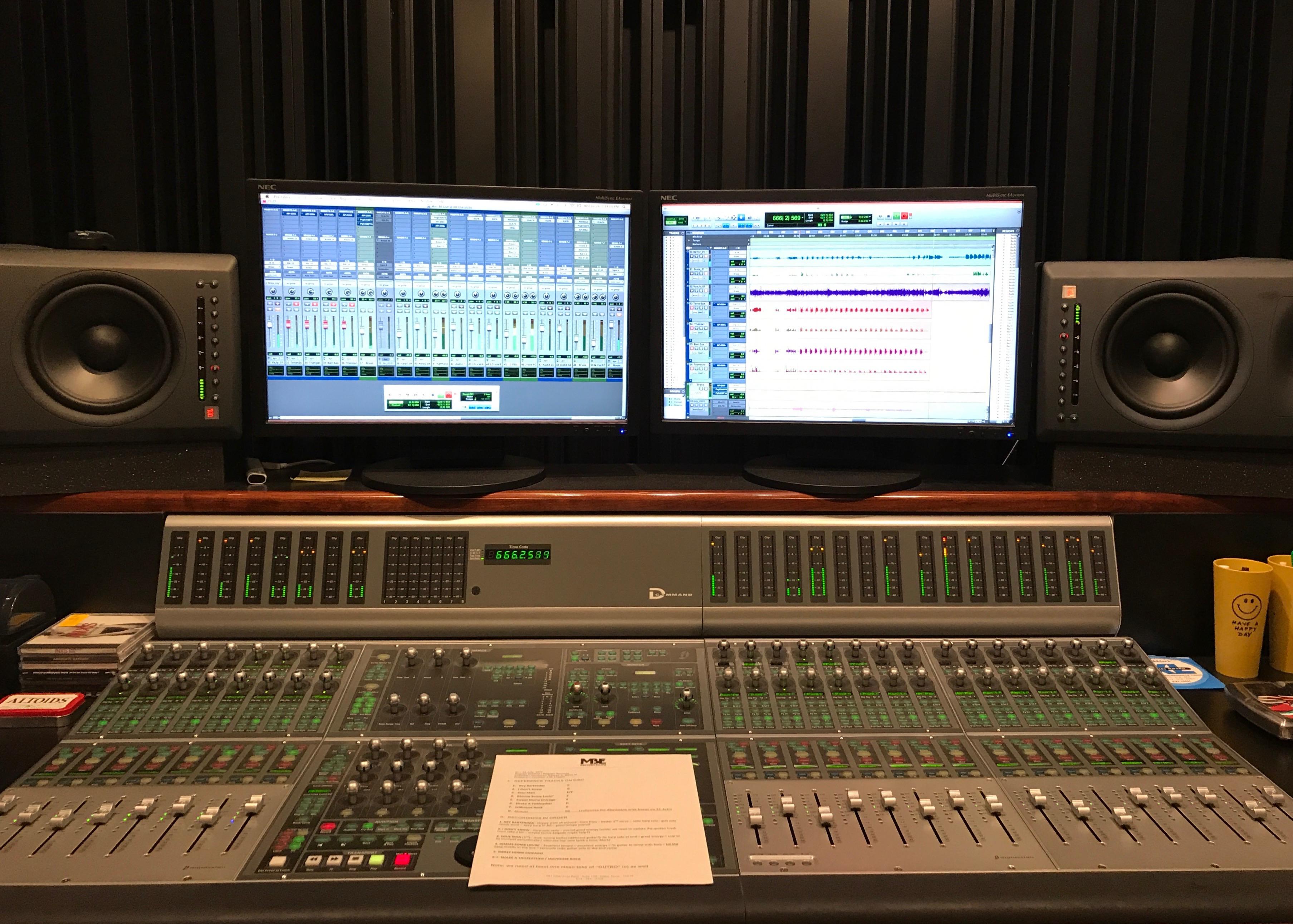 Briefcase Blues Recording Brass 3