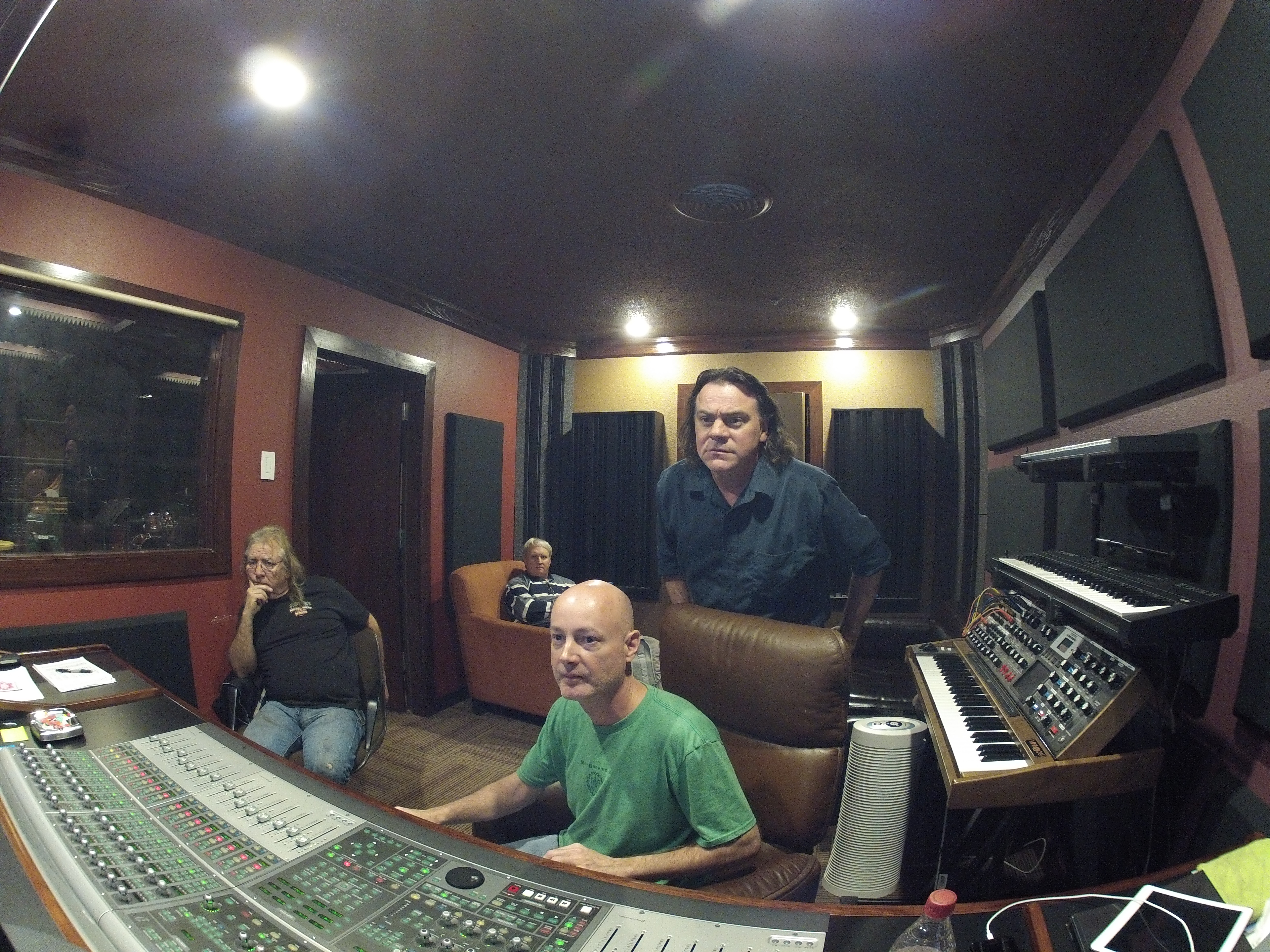 Mixing with CCA in the studio 3