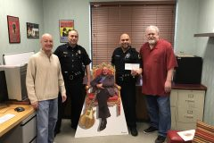 DPD Honor Guard Donation