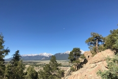 Moon Over Mount Princeton