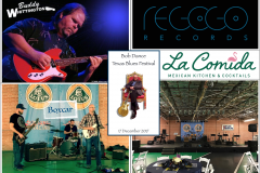 Bob Dance Texas Blues Festival 2017 Poster