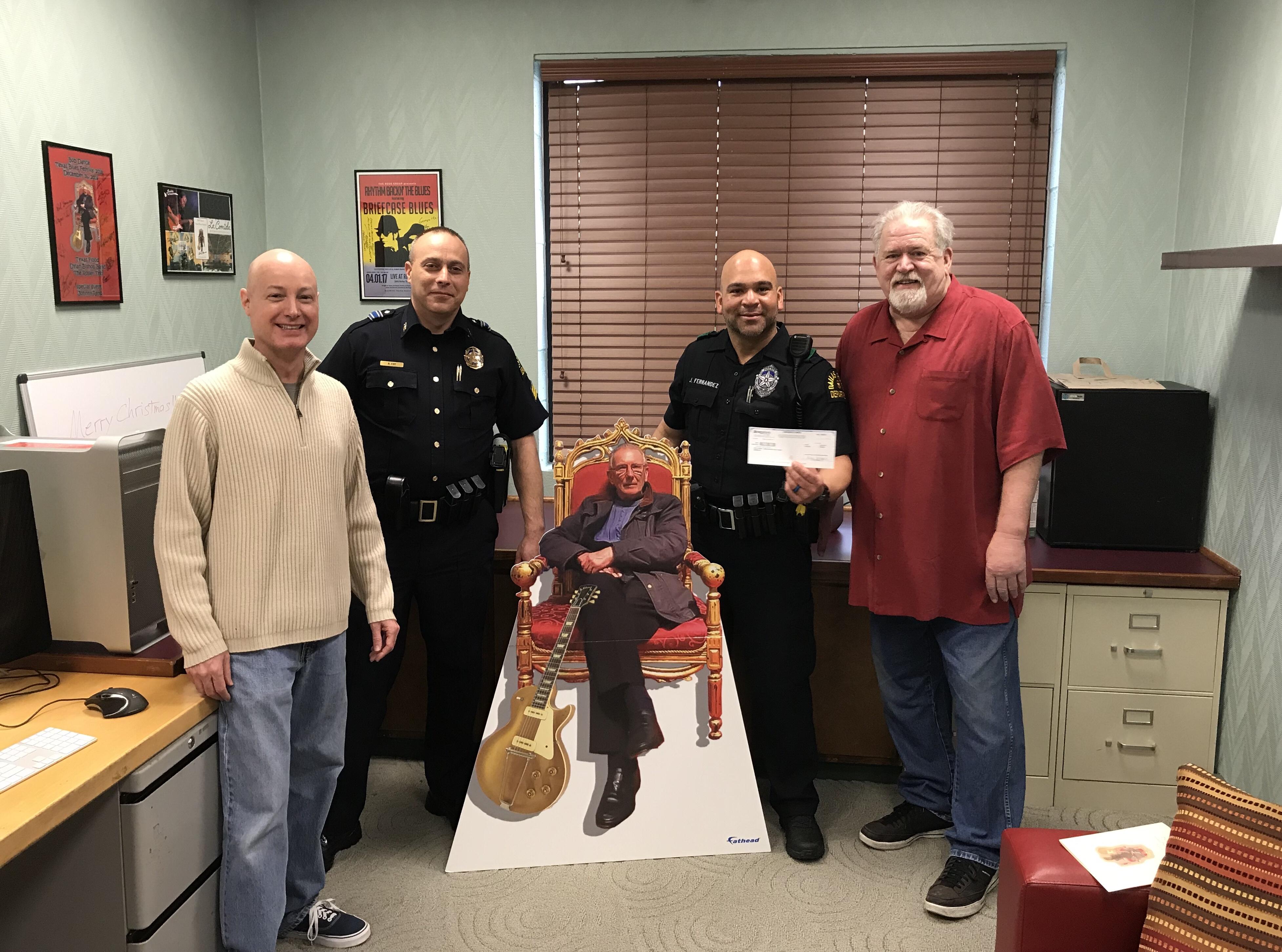 DPD Honor Guard Donation